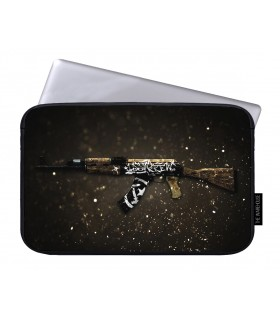 AK47 Wasteland printed laptop sleeves