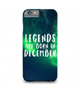 legends december printed mobile cover
