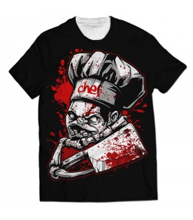 Chef Pudge all over printed t-shirt