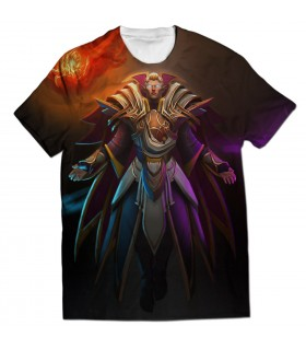 Invoker QWE all over printed t-shirt