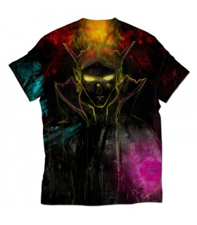 Invoker Wizard all over printed t-shirt