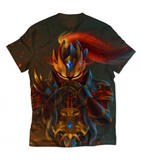 Dragon Knight all over printed t-shirt