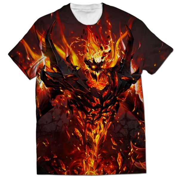 2f9239a682d66 Shadow Fiend all over printed t-shirt Rs.1-899 Price Online ...
