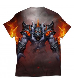 Ursa Battle rage all over printed t-shirt
