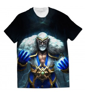 Zeus God all over printed t-shirt