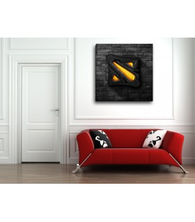 dota 2 canvas frames