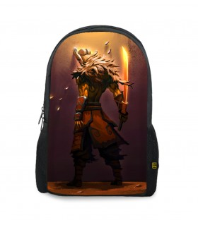 Juggernaut printed backpacks