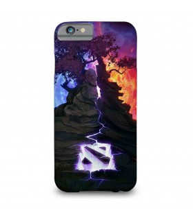 Dota 2 printed mobile cover