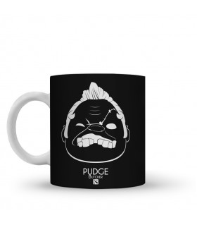 pudge printed mug