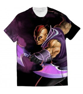 Anti-mage all over printed t-shirt