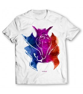 Invoker artistic printed graphic t-shirt