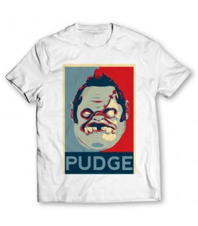 Pudge Poster printed graphic t-shirt