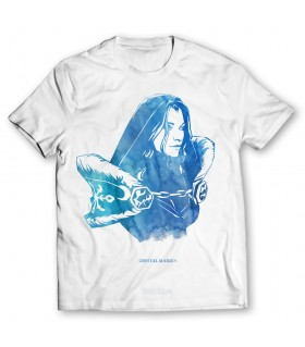 Crystal Maiden printed graphic t-shirt