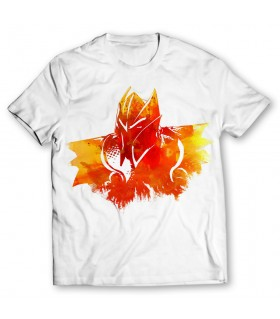Dragon Knight Form printed graphic t-shirt