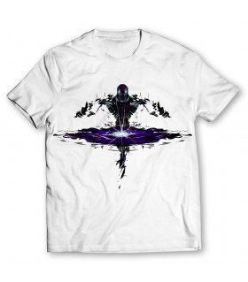 Enigma printed graphic t-shirt