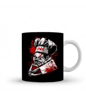 Chef Pudge printed mug