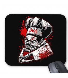 Chef Pudge printed mouse pad