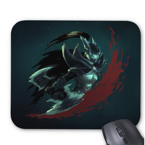 Phantom assassin printed mouse pad