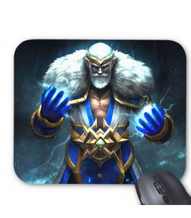 Zeus God printed mouse pad