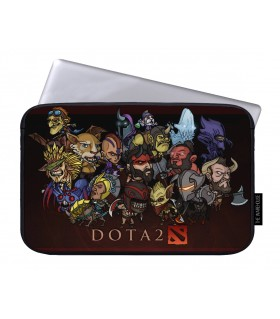 DOTA FAMILY printed laptop sleeves