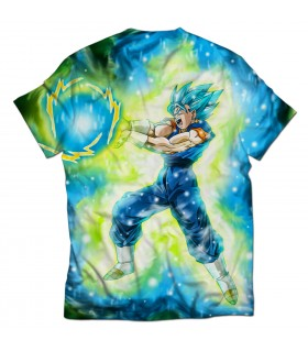 vegito all over printed t-shirt
