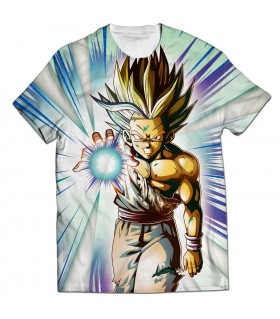 gohan all over printed t-shirt