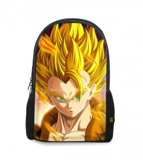 gogeta printed backpacks