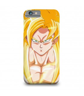 goku ssj printed mobile cover