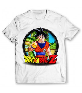 dragon ball z printed graphic t-shirt