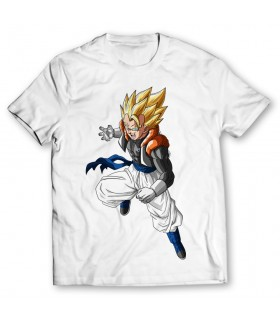 gogeta printed graphic t-shirt