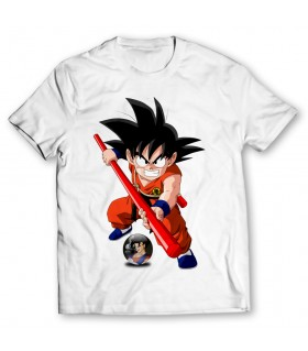goku printed graphic t-shirt