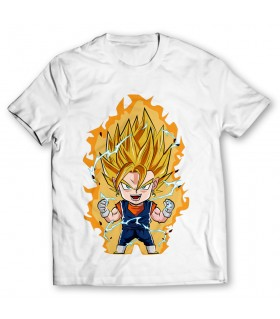 vegetto printed graphic t-shirt