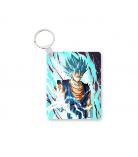 vegetto printed keychain