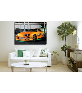 The Fast And The Furious Car canvas frames