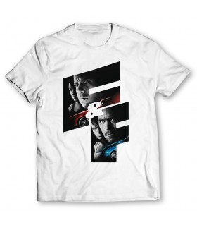 f and f printed graphic t-shirt