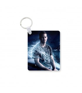 Paul walker printed keychain