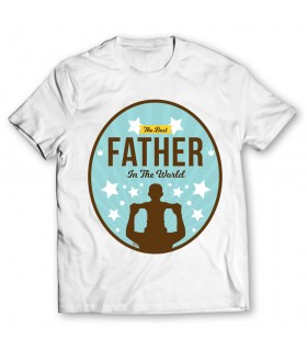 best father printed graphic t-shirt