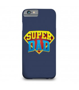 super dad printed mobile cover