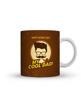 my cool dad printed mug