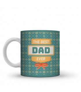 the best dad ever printed mug