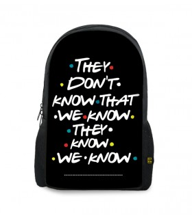 they dont printed backpacks