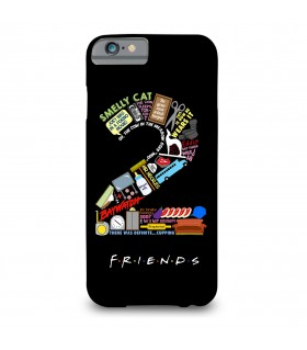 2 friends printed mobile cover