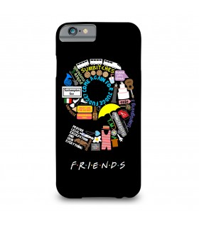 9 friends printed mobile cover