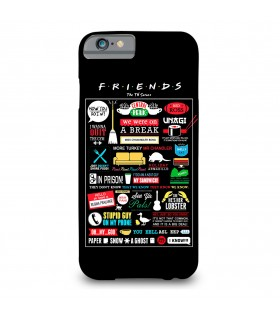 friends printed mobile cover