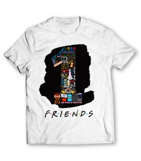 1 friends printed graphic t-shirt