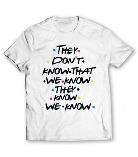 they dont printed graphic t-shirt
