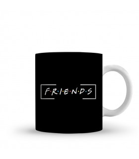 friends printed mug