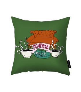 central perk printed pillow