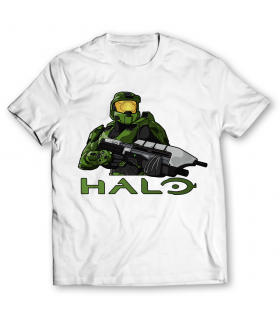 Halo printed graphic t-shirt