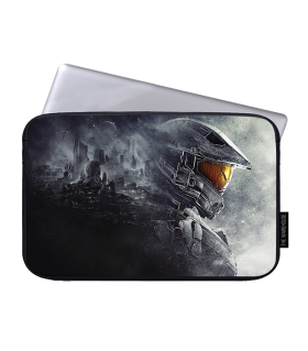 halo printed laptop sleeves